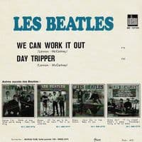 THE BEATLES We Can Work It Out Vinyl Record 7 Inch Odeon 2019